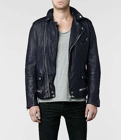 Ishida Leather Biker Jacket