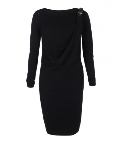Ellil Draped Dress, Women, Dresses, AllSaints Spitalfields