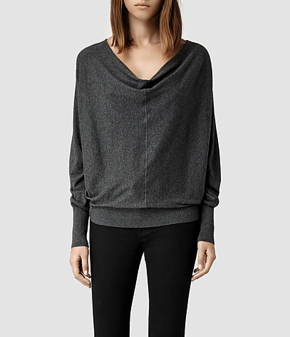 Elgar Cowl Neck Sweater, Women, New, AllSaints Spitalfields