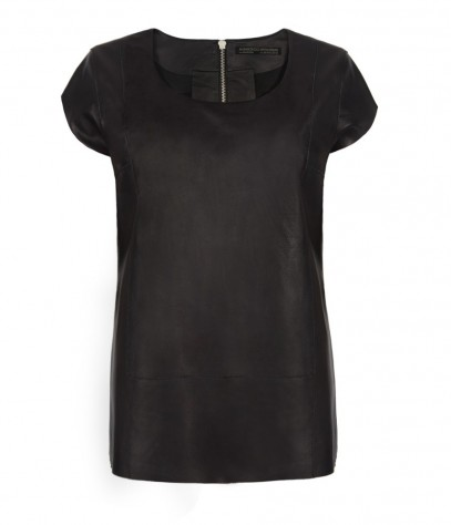 Dash Leather T-shirt