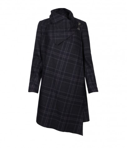 Plaid Monument Coat, Women, Coats, AllSaints Spitalfields