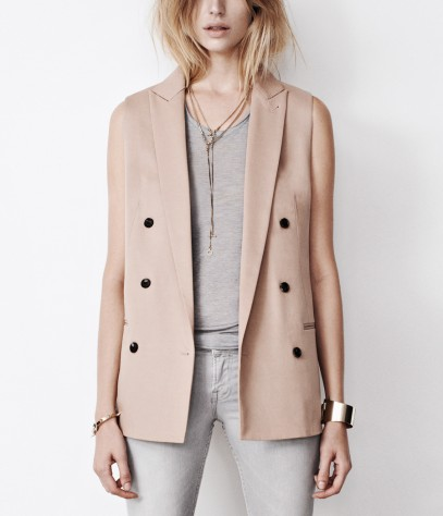 Masson Sleeveless Blazer