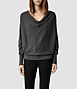 Elgar Cowl Neck Sweater 0, Women, New, AllSaints Spitalfields
