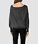Elgar Cowl Neck Sweater 2, Women, New, AllSaints Spitalfields