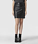Lucille Leather Skirt, AllSaints Spitalfields
