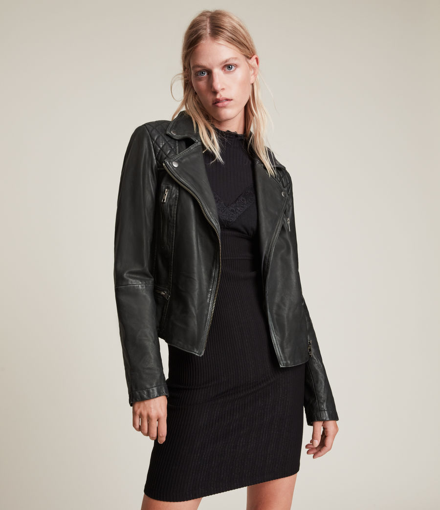 Allsaints Women S Leather Jackets Iconic Pieces